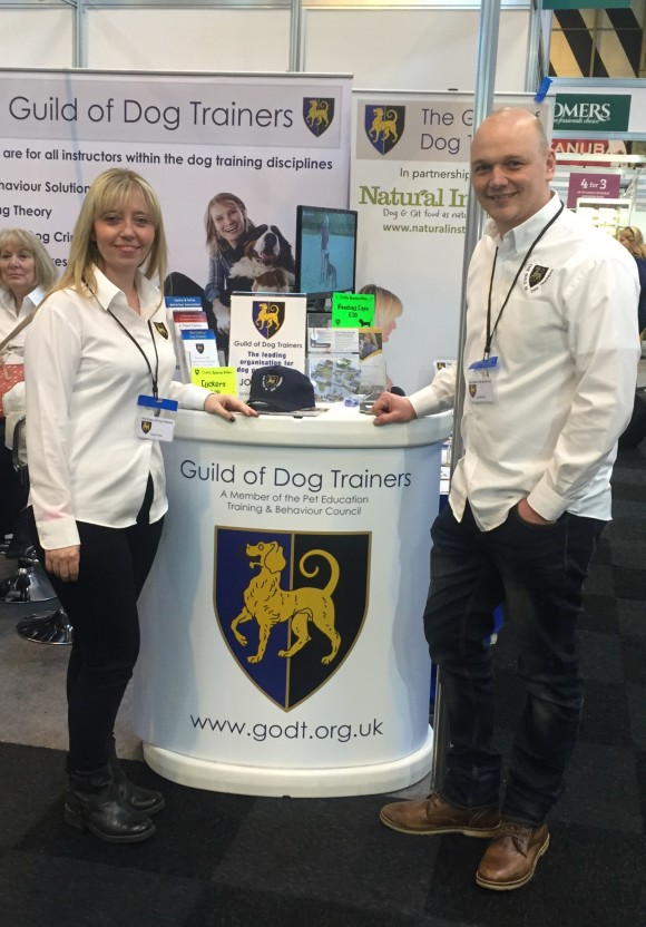 Crufts 2016 with The Guild of Dog Trainers