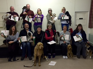 Kennel Club Good Citizen Scheme Award CHAMPIONS!